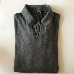 NWOT ORVIS Long Sleeve Polo